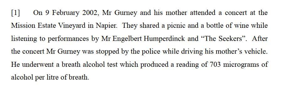 Gurney v Police [2017] NZHC 1581